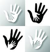 Caring Hands Clip Art.