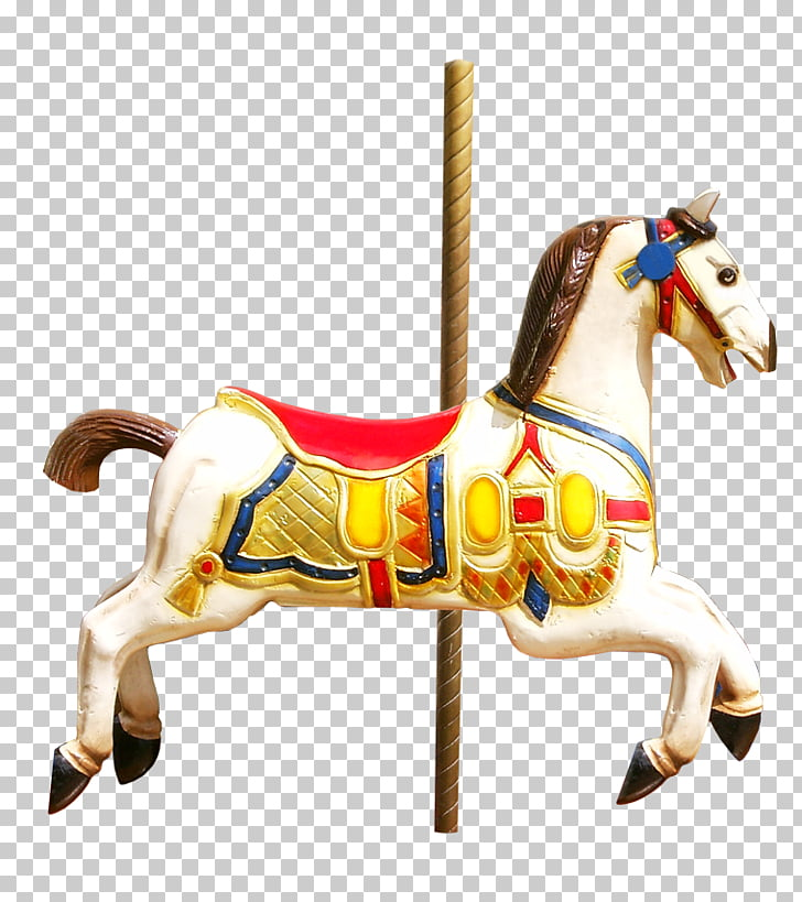 Horse Halter Carousel, horse PNG clipart.