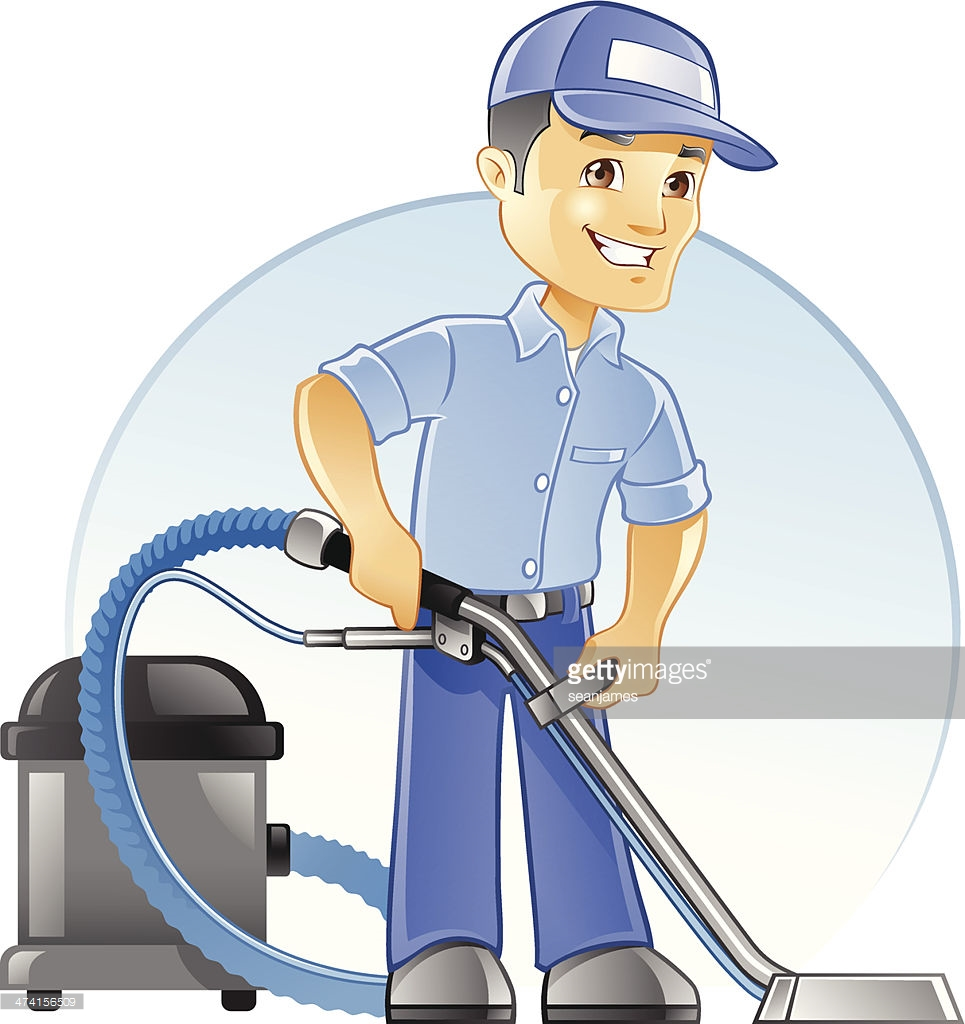 0 Carpet Cleaning Clip Art Carpet Cleaning Professional With Vacuum.