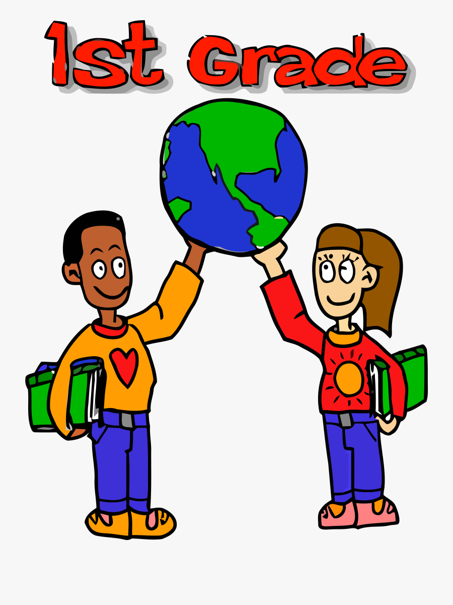 First Grade World Kids Carry Clipart Png.