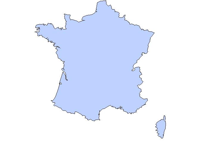 Clipart Carte De France.