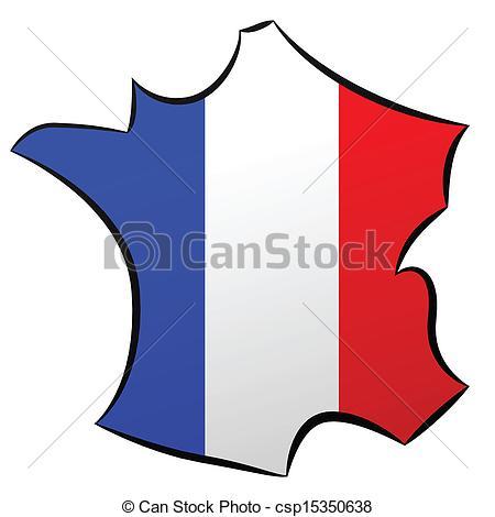 Vectors of Carte de France csp15350638.