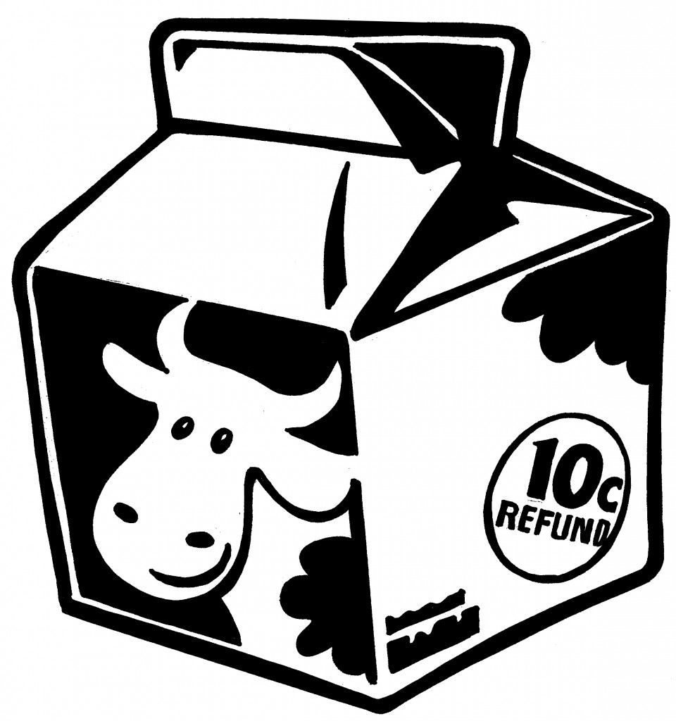 Best Milk Carton Clip Art #6486.