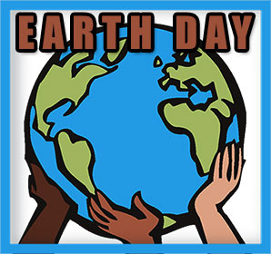 Earth Day Animated Clipart.