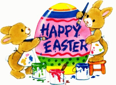 Clipart Cartoon Easter Sunday.