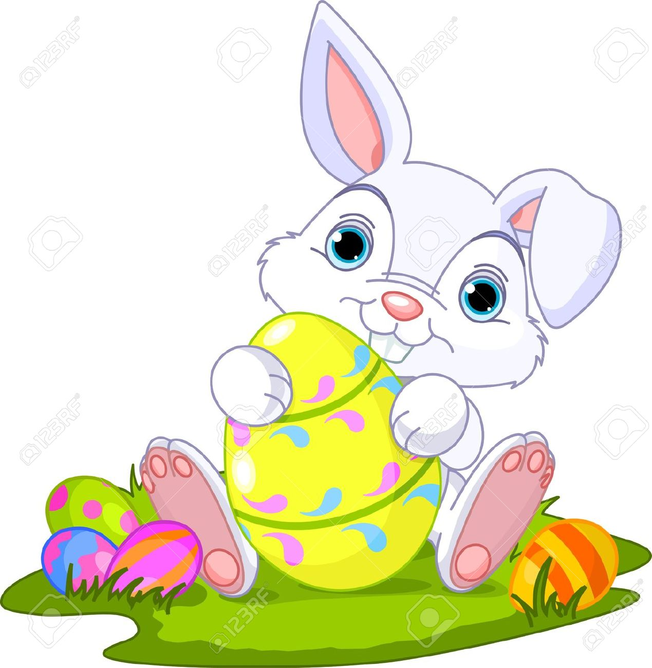 45,559 Easter Bunny Stock Vector Illustration And Royalty Free.