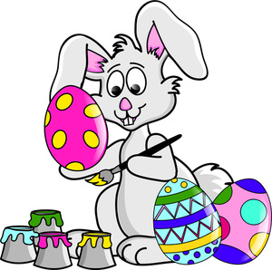 Cartoon Easter Clipart.