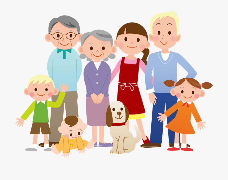 Family Cartoon Clip Art.