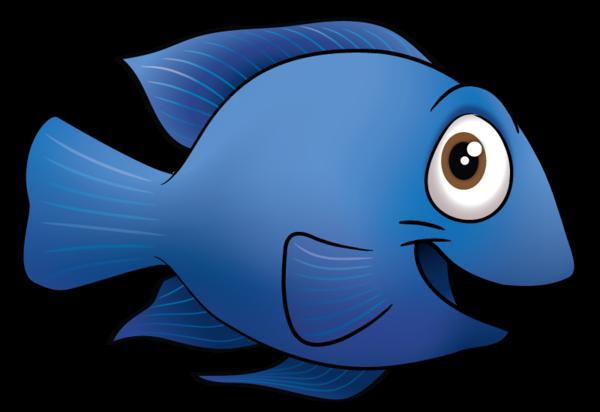 Cartoon Of Fish.
