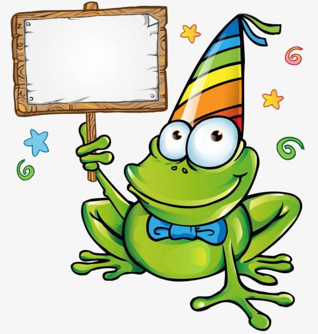 Cartoon Frog Road Sign PNG, Clipart, Cartoon, Cartoon Clipart.