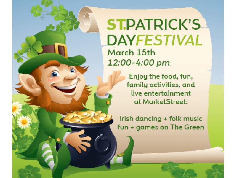 St. Patrick's Day Festival at MarketStreet Lynnfield.
