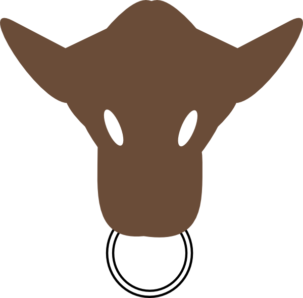 Bull Head Clip Art at Clker.com.