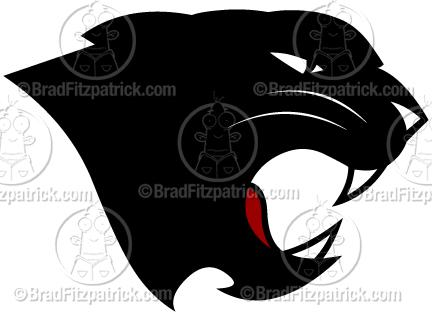Black Panther Logo.