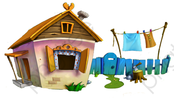 Cartoon House, Cartoon Clipart, House, Roof PNG Transparent Image.