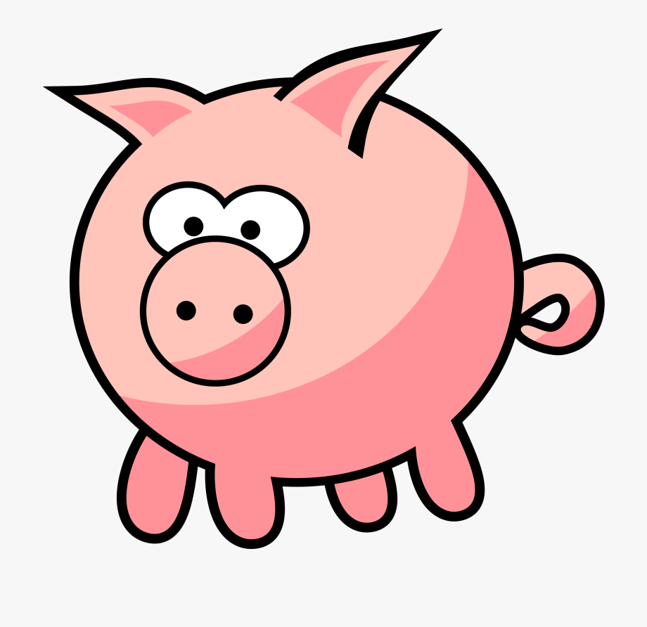 Ideas Cute Pig Clipart On Spectaxmas.