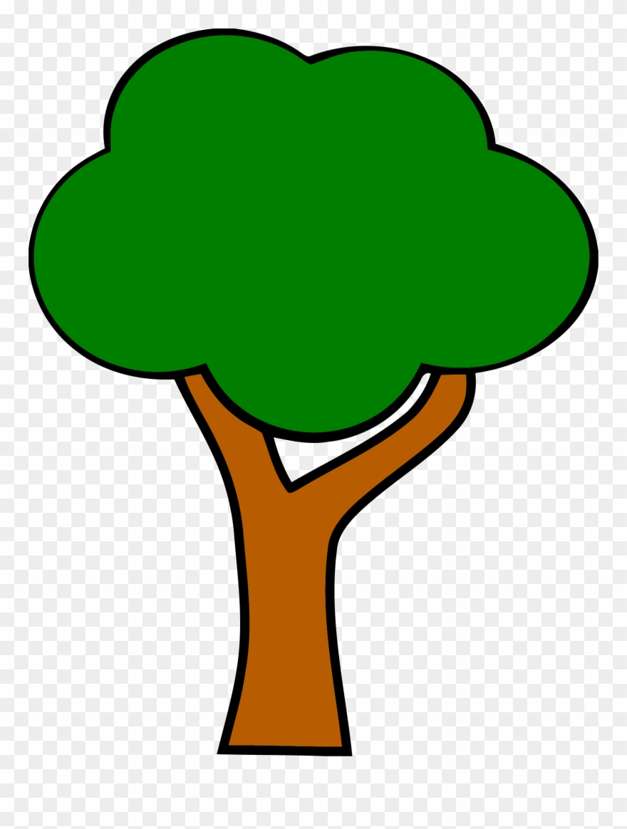 Cartoon Tree With Branches 28, Buy Clip Art.