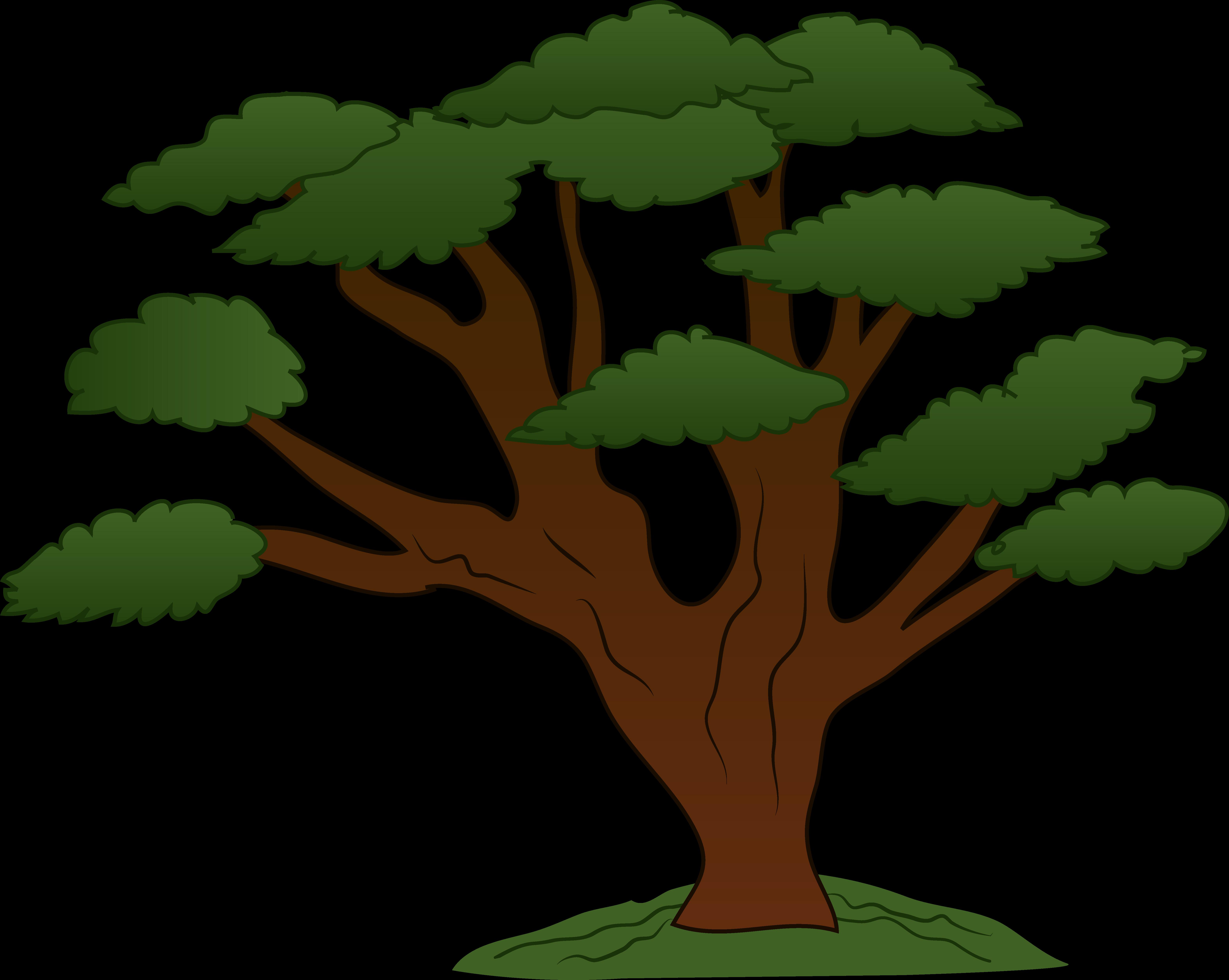 Cartoon Tree Cliparts.