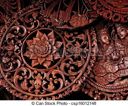 Wood Carvings.