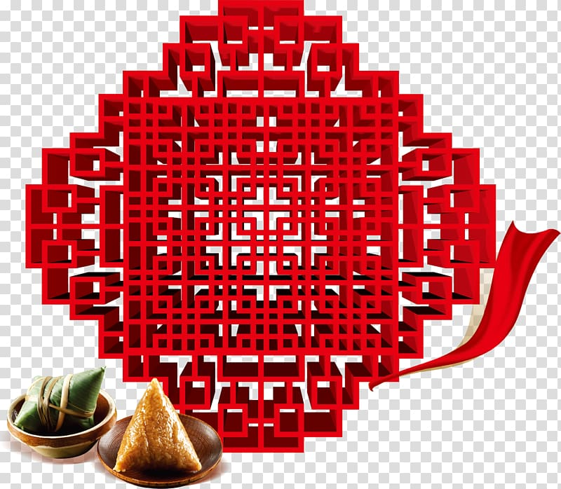 Window, Red traditional carved window decoration background.