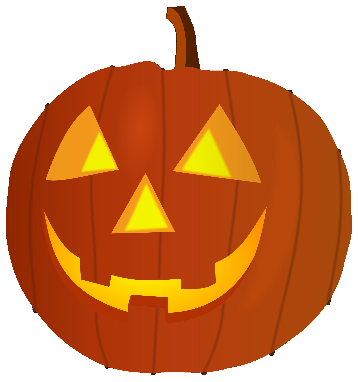 1538 Halloween Pumpkin free clipart.