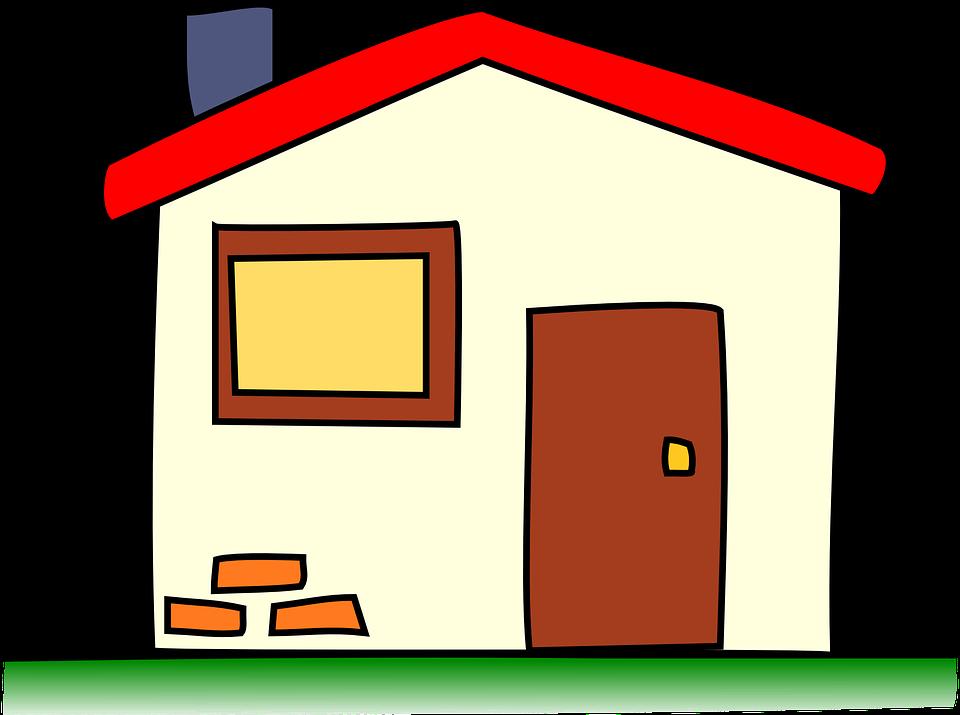 Free vector graphic: Building, House, Home, Window, Door.