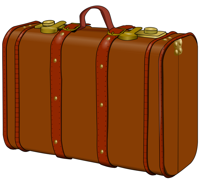 Suit Case Clipart.