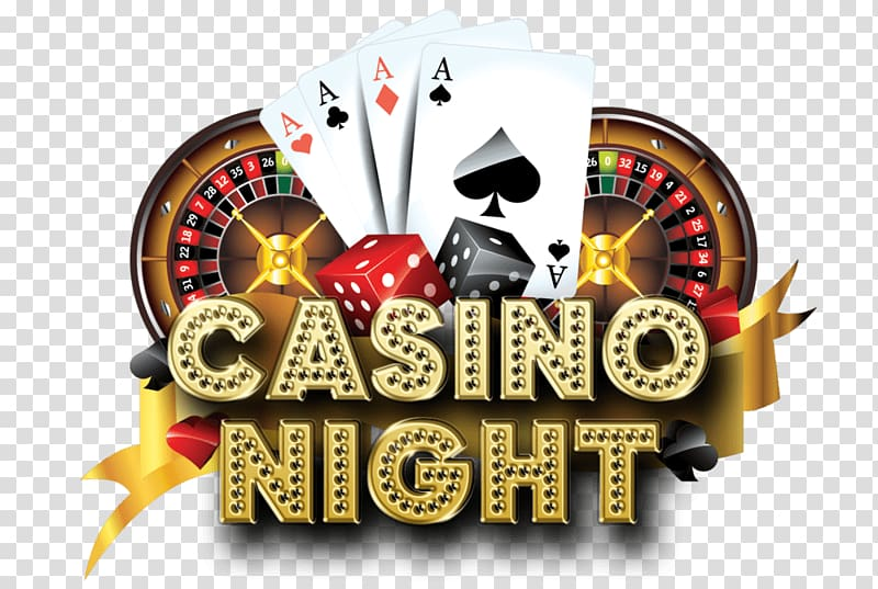 Casino Night logo, Casino Night Logo transparent background.