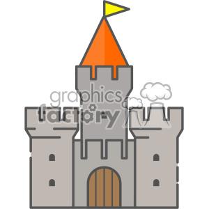Castle clip art vector images clipart. Royalty.