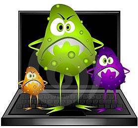 Virus, malware and spyware removal and protection in Evesham.