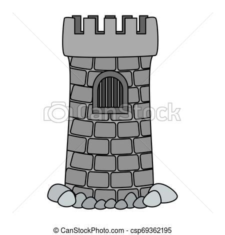 castle tower aquarium decoration.