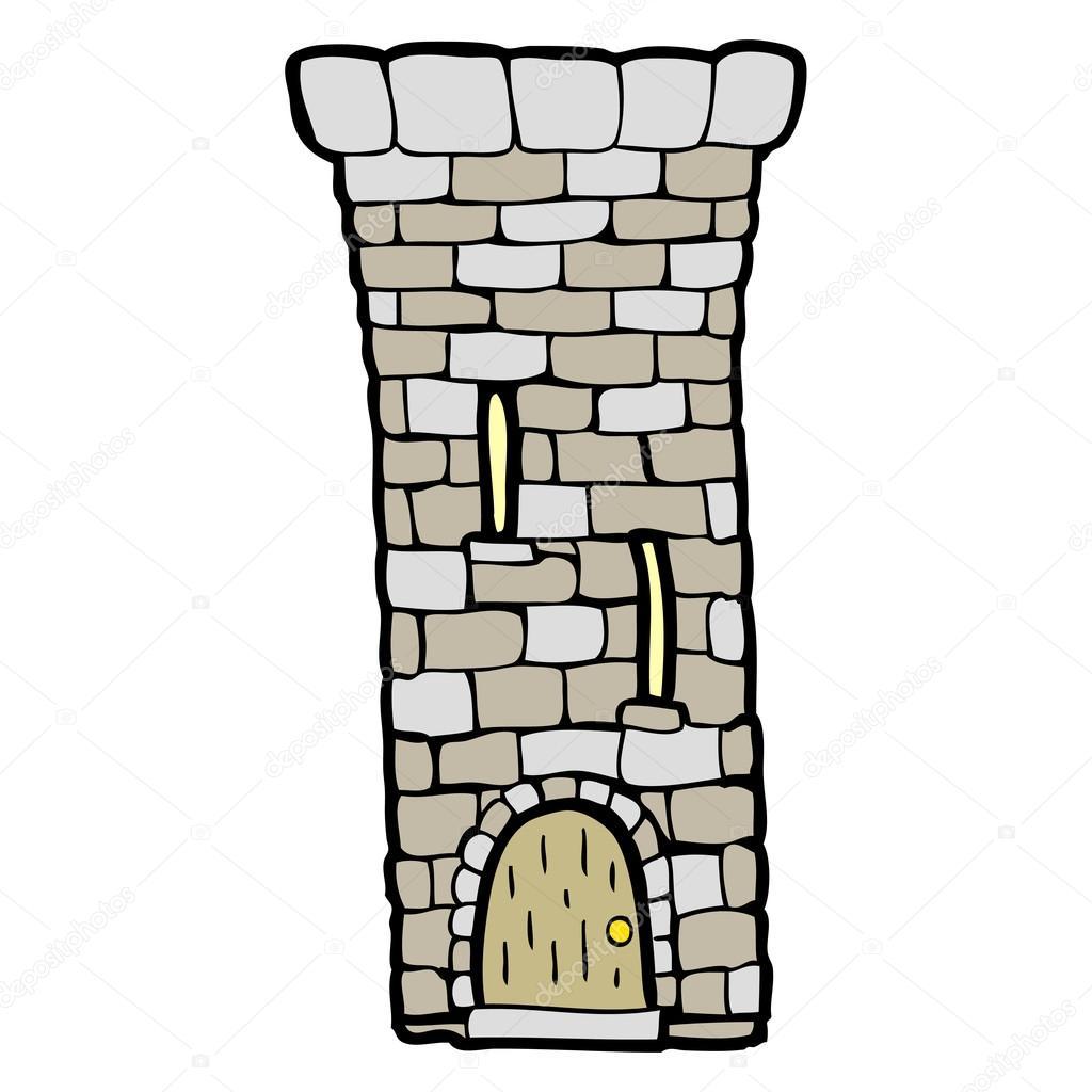 Clipart: castle tower.