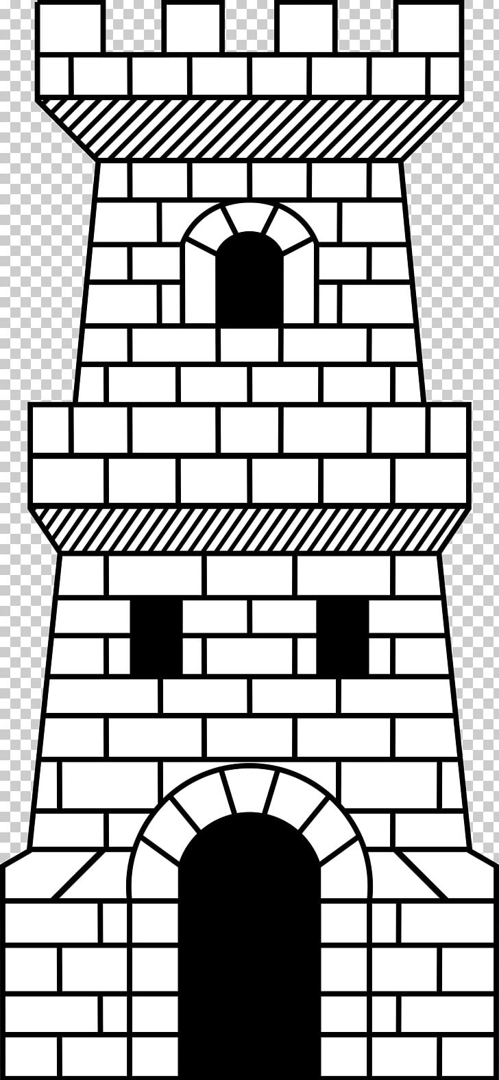 Fortified Tower Castle PNG, Clipart, Arch, Area, Art, Black And.