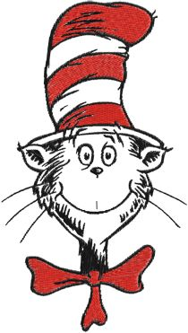 Dr Seuss Cat In The Hat Clip Art Free.