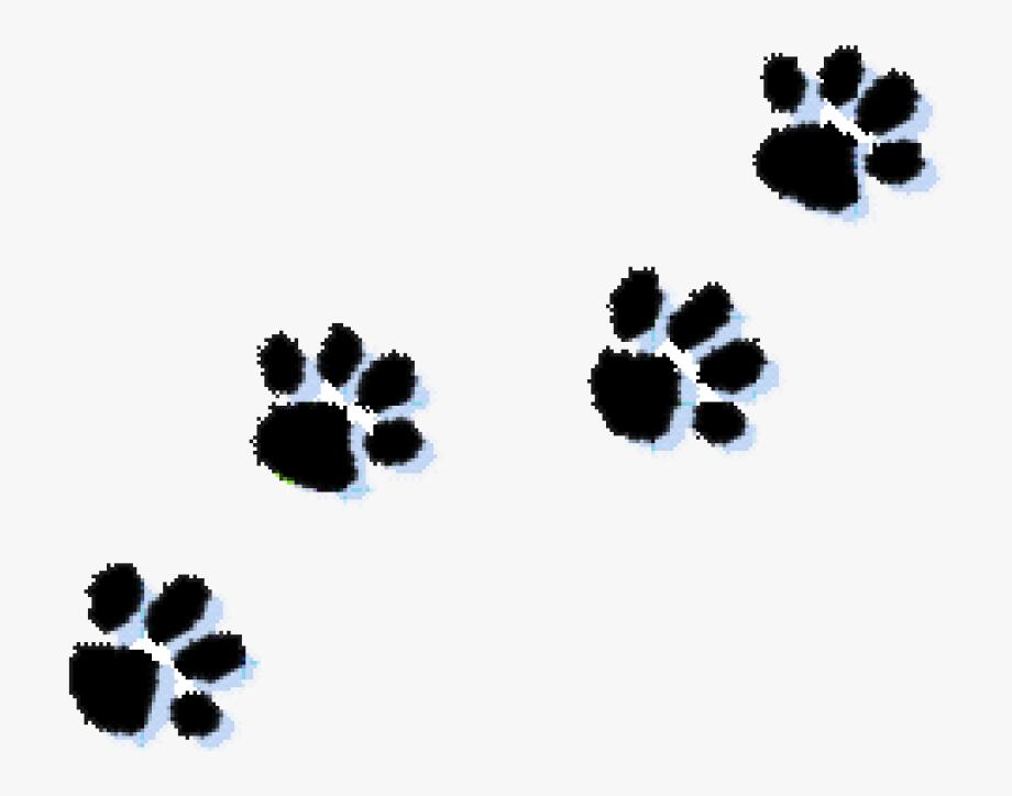 Cat Paw Print Clip Art.
