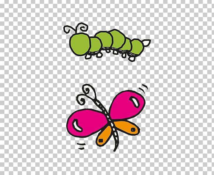Monarch Butterfly Caterpillar Brush.