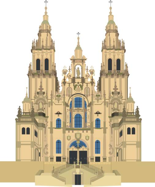 Best Cathedral Illustrations, Royalty.