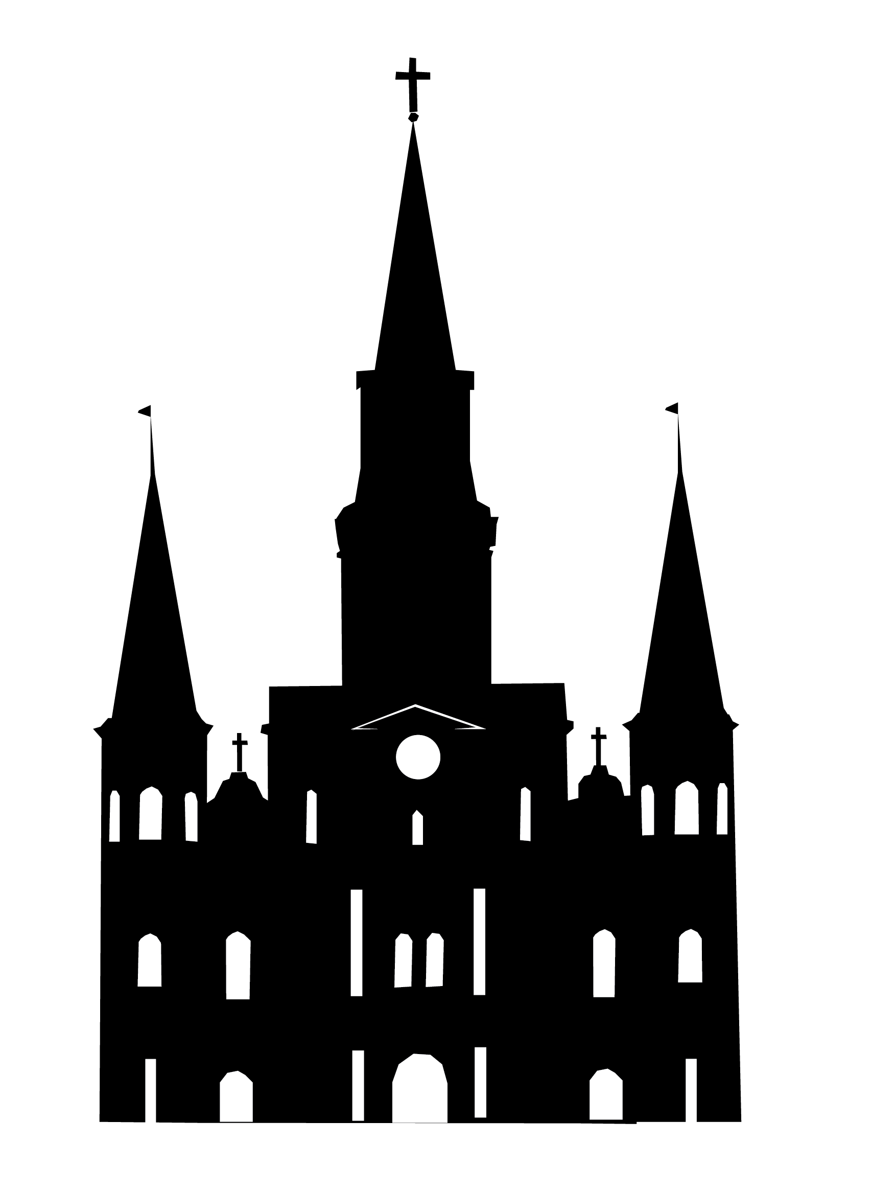 St. Louis Cathedral Clip Art.