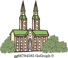 Cathedral Clip Art.