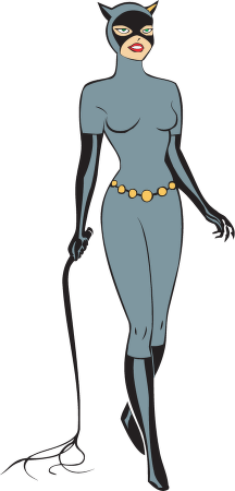 Catwoman Clipart.