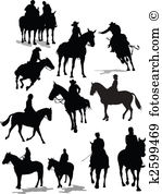 Cheval cavalier Banque de Clip Arts et Illustrations. 2 513 cheval.