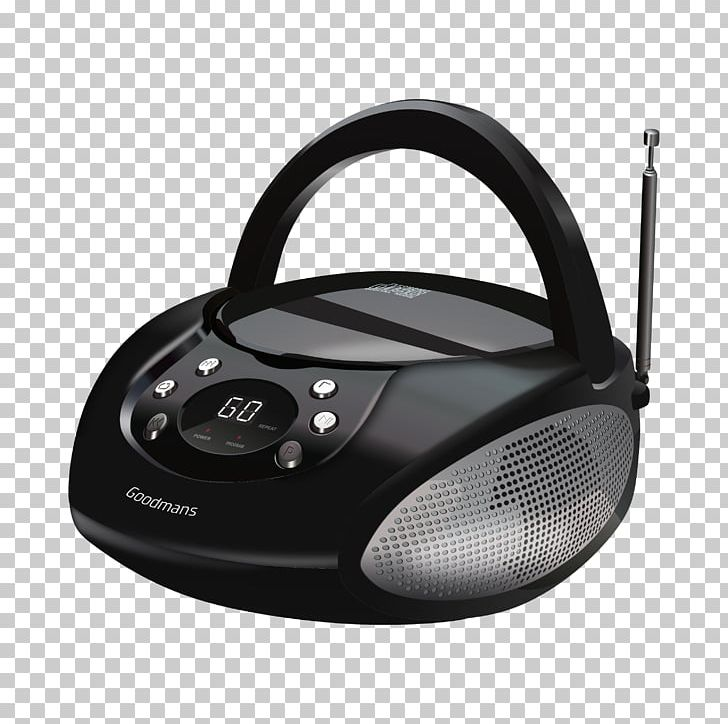 Radio FM Broadcasting Boombox Portable CD Player Compact.