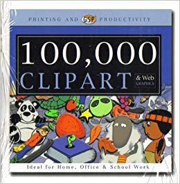 100, 000 Clip Art & Web Graphics [ CD.