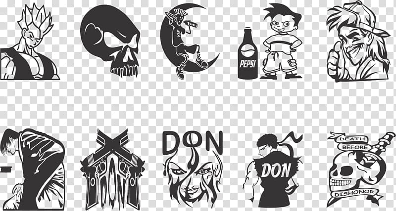 Tattos PSD AI And EPS CDR File transparent background PNG.