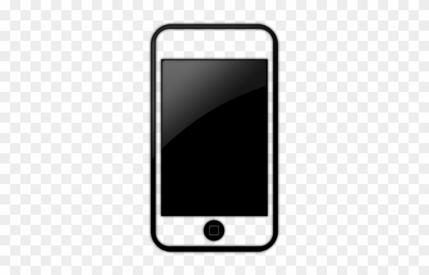 Download Free png Iphone Cell Phone Icon Black Free Transparent PNG.