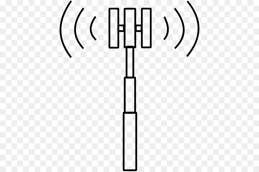 Cell site Tower Clip art.