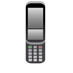 Cellphone. Telefono celular clipart, cliparts of Cellphone.
