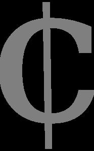 Cent Sign Clip Art at Clker.com.