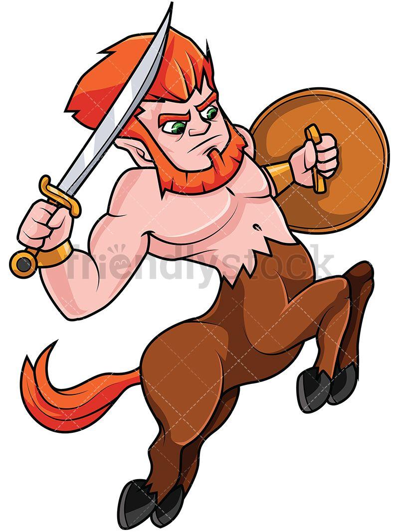 Charging Centaur Warrior in 2019.