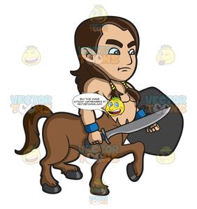A Young Centaur Warrior.