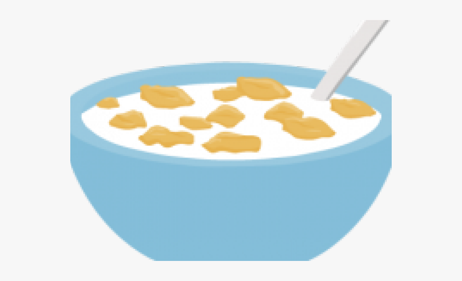 Bowl Of Cereal Clipart , Transparent Cartoon, Free Cliparts.